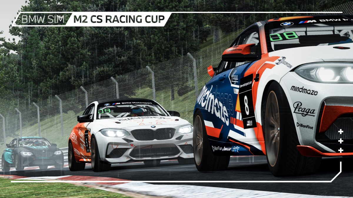 Hope you all brought your rain coats and umbrellas to Green Hell! ☔️  #BMWSIM @rFactor2 https://t.co/GRFjhXf6rY