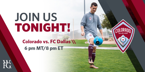 Join us tonight for an exclusive interview with Tom Dempsey and the Colorado Rapids GM, Padraig Smith. Don't forget to follow along on Twitter using #Rapids96 and tag us to be featured on the live chat stream! Tune in at 8pm ET/5pm PT by clicking https://t.co/BdFymRUtIq. ⚽ https://t.co/TThQ8dhCmy