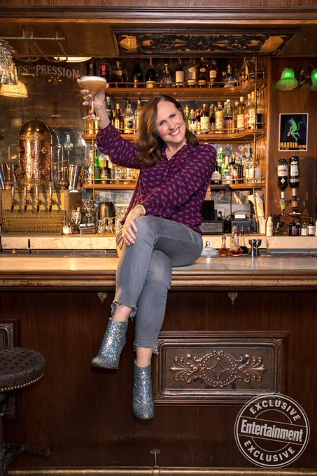 Cheers to her, Happy Birthday Molly Shannon!!!