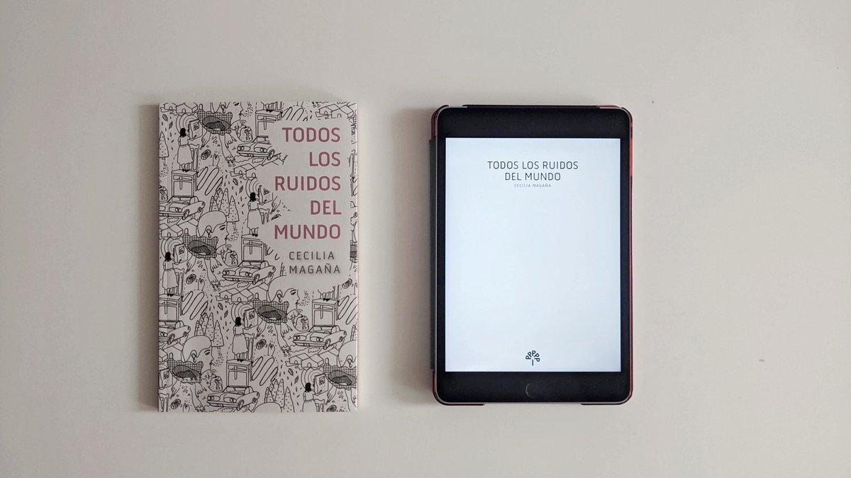 ¿Ya conocen la nueva edición de «Todos los ruidos del mundo»?  #EncuentraParaísoPerdido impreso y en #ebook. 🔇 Impreso:  https://t.co/V64PeZ5P9F 🔇 ebook: https://t.co/RA2MVuSwGe ⠀・・・⠀ #LibrosRecomendados #libros #EditorialesIndependientes  #VeranoParaísoPerdido https://t.co/l3LDBtd86d