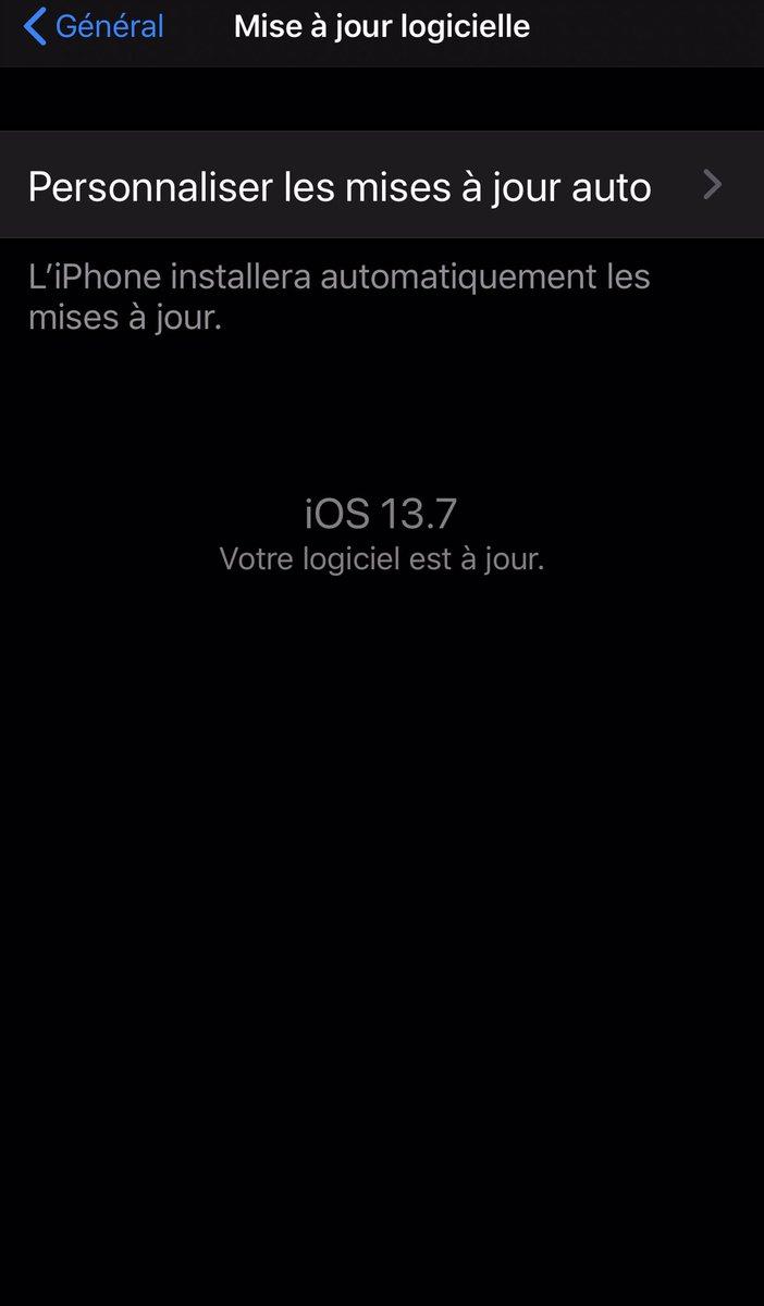 Cette page je l'ai plus vu que mes darons aujourd'hui wsh bref j'att toujours iOS 14