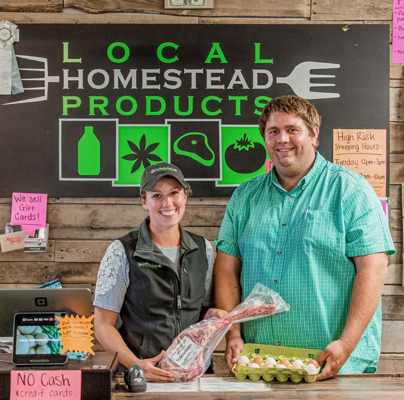 The Hoff family of Local Homestead Products in Carroll County has been working throughout the pandemic to make sure costumers have access to fresh, healthy food.  Read more about their operation and how they've adapted to these unprecedented times⬇️@MidAtFarmCredit #StillFarming https://t.co/kTJcCL4BWc https://t.co/EQmK9htwY9