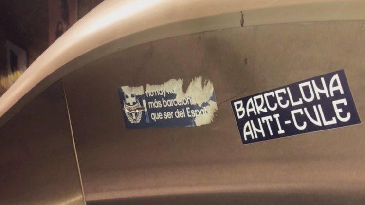 Por el metro#stickers