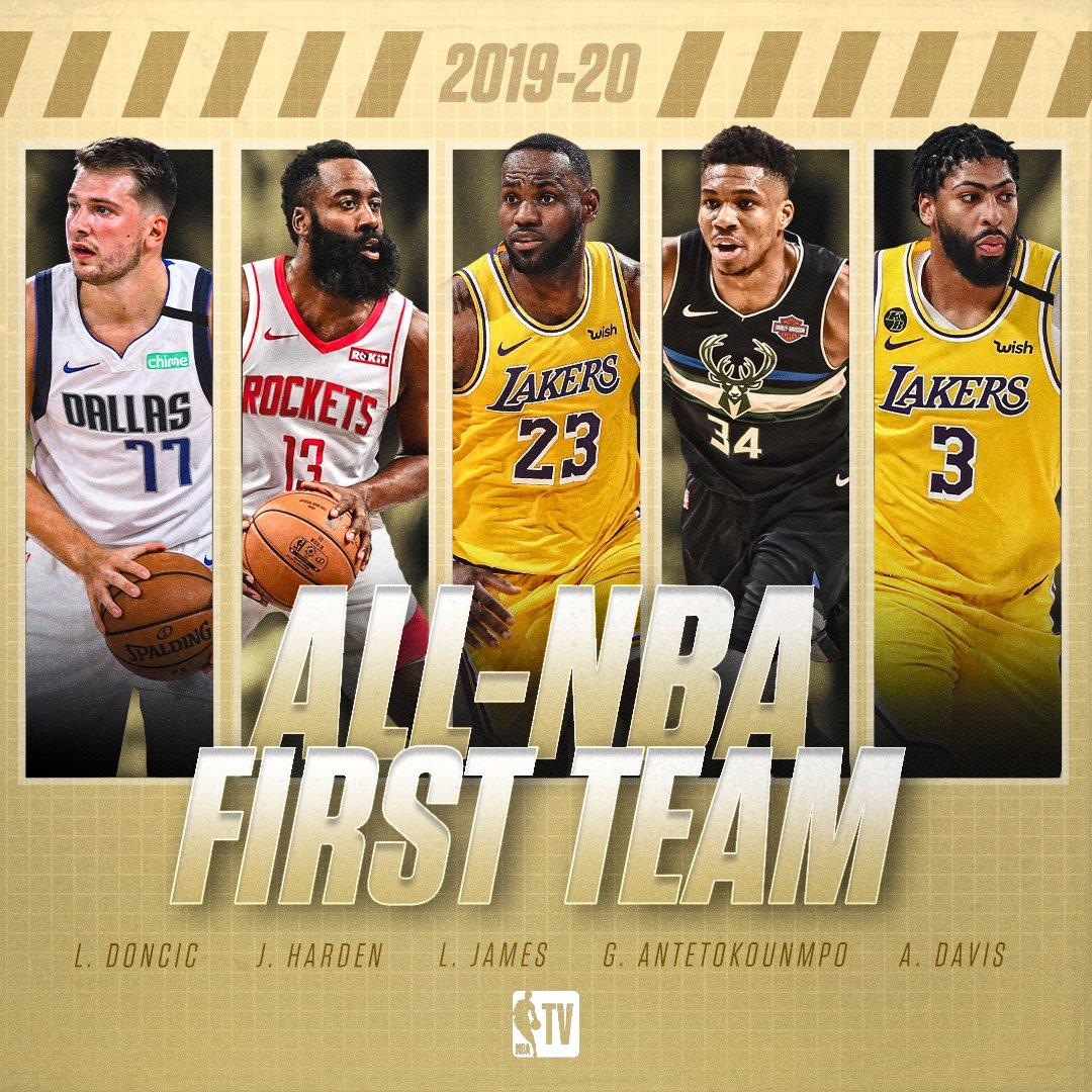 NBA – Nominati gli All-NBA Teams della stagione, c'e' Doncic!