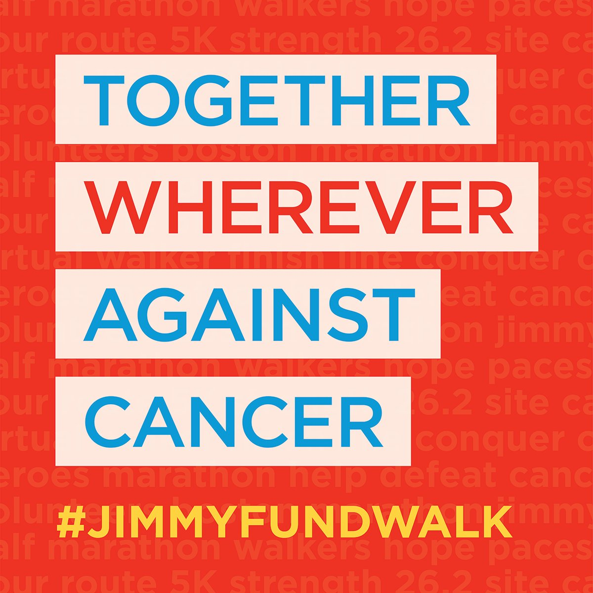 Register today for the #BostonMarathon @TheJimmyFund Walk on Sunday, 10.4. While the event won't physically be on the course this year, it will continue to raise funds for pediatric and adult cancer research at @DanaFarber. Register now at https://t.co/L99Zj2l6Op. #JimmyFundWalk https://t.co/BDMqNpge1h