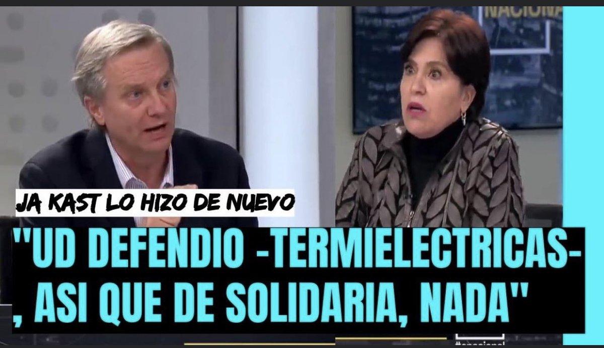 VIDEO | Revive acá la humillación completa de José Antonio Kast a Ana Lya Uriarte ex mano derecha de Bachelet. https://t.co/pOIpOqyc5R https://t.co/rQhS8fClZ5