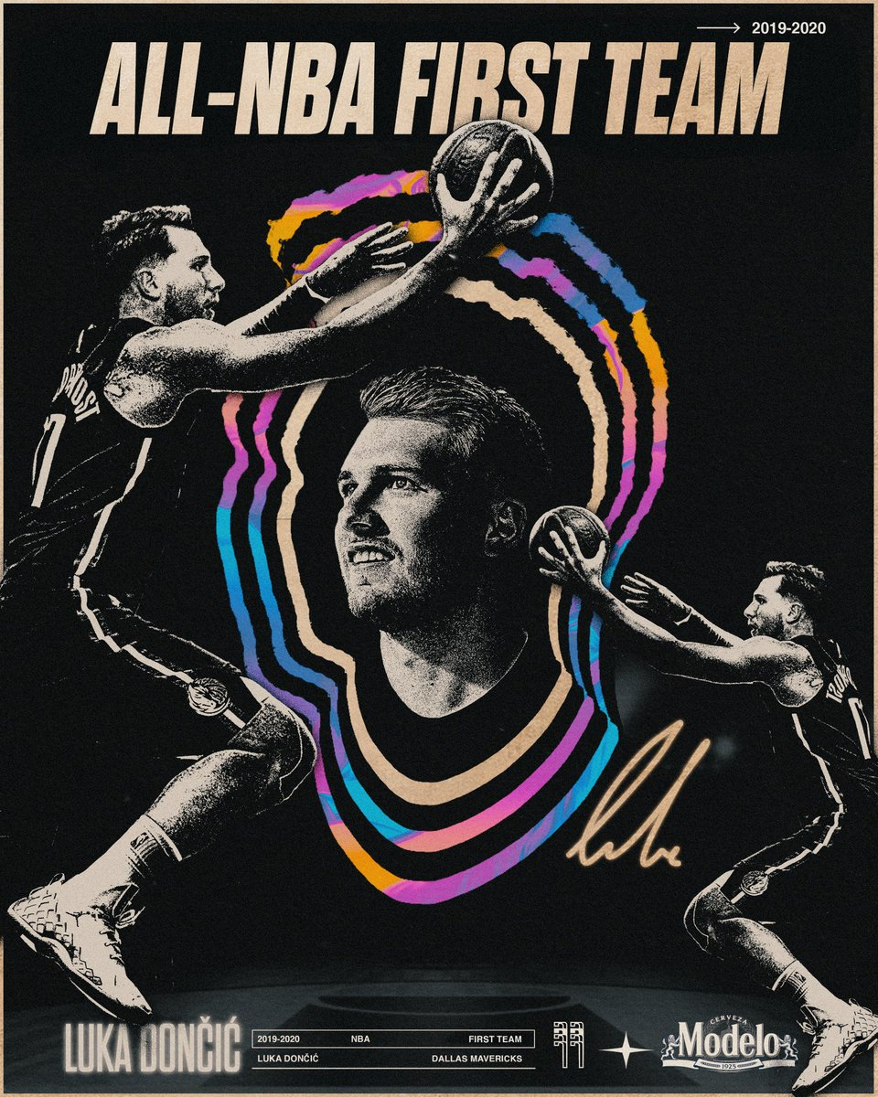 😤 ALL-NBA FIRST TEAM 😤 Congrats, @luka7doncic!   #MFFL https://t.co/a1IMCbEFas