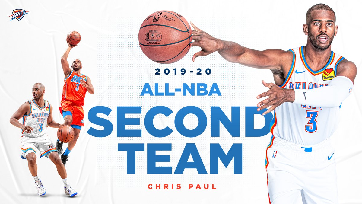 Congratulations to @CP3! 👏   𝐂𝐡𝐫𝐢𝐬 𝐏𝐚𝐮𝐥 | 𝟗𝐱 𝐀𝐥𝐥-𝐍𝐁𝐀 https://t.co/PWOZI7CO8l