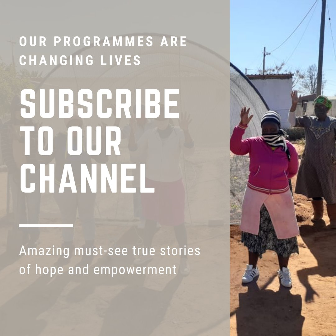"Subscribe today to the most amazing channel you're not seeing yet!  Search ""Umsizi Sustainable Social Solutions"" on YouTube OR Click on the link: https://t.co/49WMBnonls  #rebuildingtheeconomy #socioeconomicdevelopment #localeconomicdevelopment #communitydevelopment #livelihoods https://t.co/ZihqMlFONY"