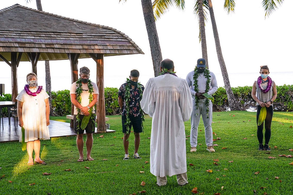 Production begins with a traditional Hawaiian blessing ceremony! #MagnumPI https://t.co/WgU18fH5sv