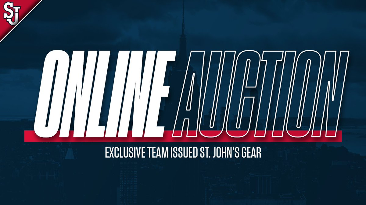 Don't forget to check out our Online Auction to access exclusive team issued gear! 🔗 redstormsports.com/auctions/