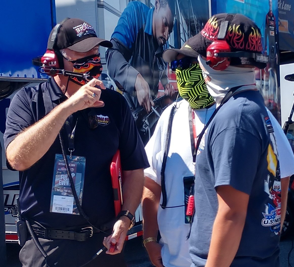"""Thanks @PutOnTheBRAKES - for featuring us !  Yes find us walking """"backwards"""" with our V.I.P. Guests @NHRA + @IndyCar Events Follow Us to stay in the know on upcoming #RacesherpaAdventures #VIPTours #BucketList #USNats #NHRA #IndyCar #ClassicRacing  #HistoricRacing 