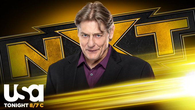 William Regal Reveals His Big NXT Announcements