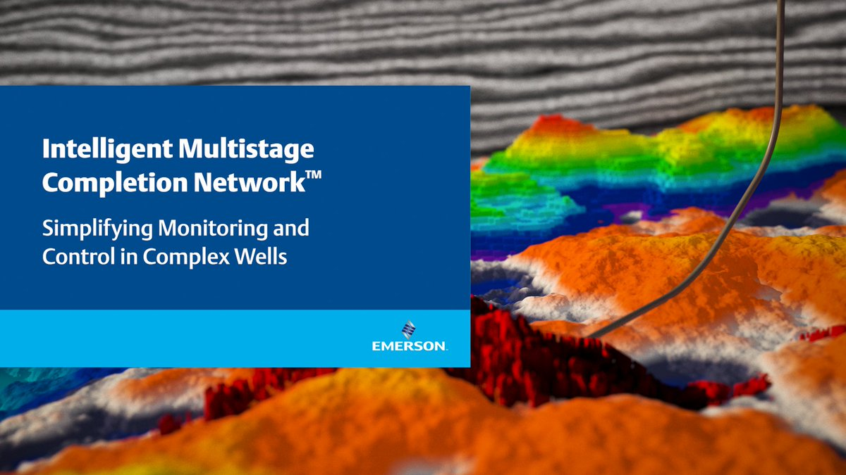 Watch how the Intelligent Multistage Completion Network™ helps improve the performance of your wells > https://t.co/RIeyNvpePe https://t.co/b5vflIcGQY