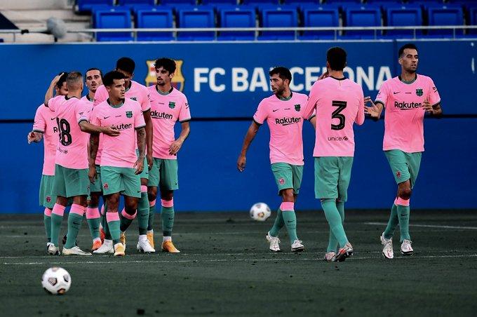 2nd win for Barcelona in the preseason, vs Girona