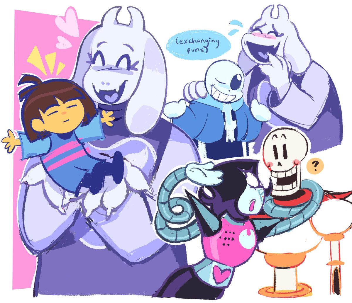 RT @POPPYR0CKZ: im a little late but i still wanted to draw something.. i love this game so much #undertale https://t.co/4NX4xQPBFc