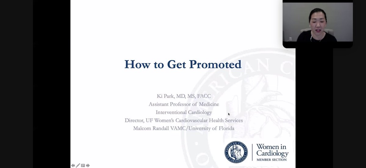 Some Excellent Tips on how to great promoted by @cardioPCImom at the Southeast #ACCWIC Webinar tonight! 😍