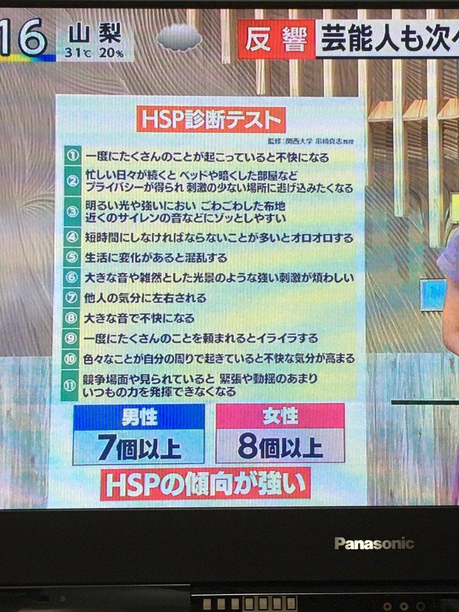 テスト hsp 診断