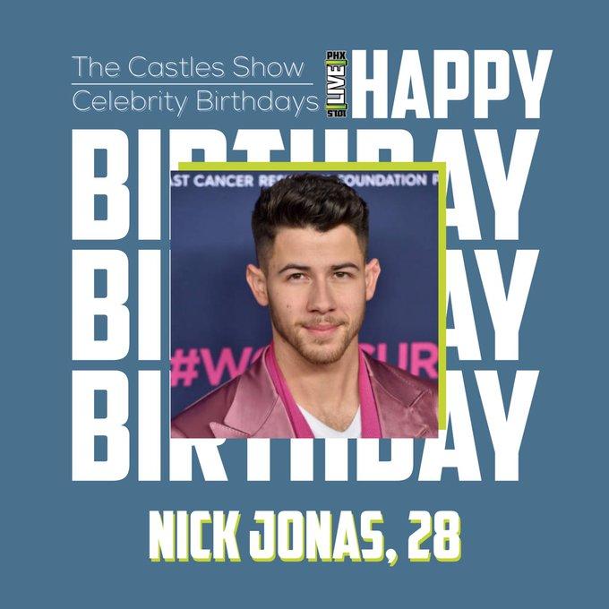 Happy birthday Nick Jonas   :