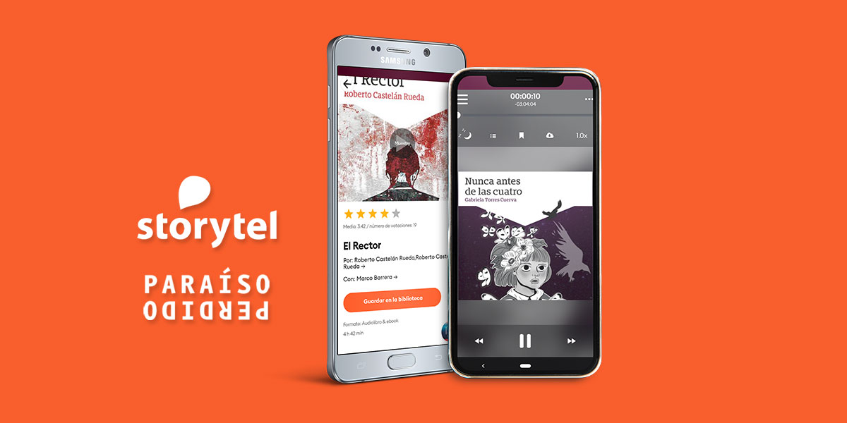 📚 Elige entre algunos de nuestros títulos disponibles en #audiolibro y déjate llevar por las palabras. ⠀  🎧 https://t.co/vYuXotp3Ap  #EncuentraParaísoPerdido en @Storytel_MX #audiolectores #EditorialesIndependientes https://t.co/xr5BaOTbQ6