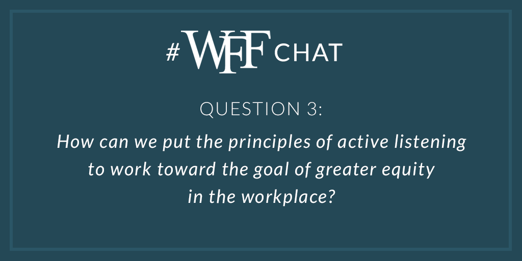 A3 Make sure everyone is on the same page. Verify and clarify - constantly. Especially at the beginning of a relationship or project. #wffchat