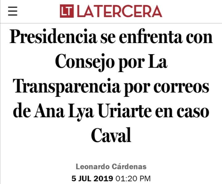 @biobio Bachelet, Caval y Ana Lya Uriarte, tanto daño no hicieron. Bien!! https://t.co/r8bdUCHZ0s