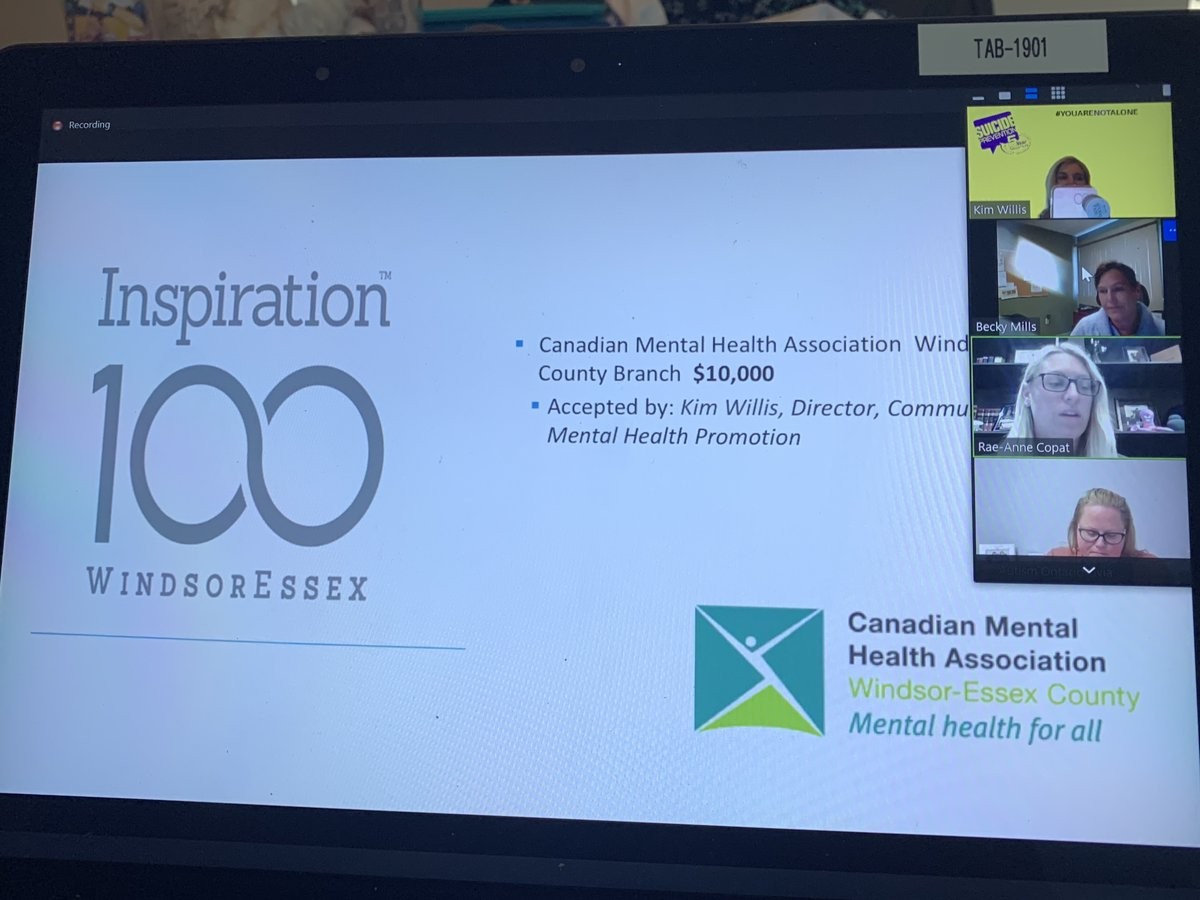 test Twitter Media - Thank you to @WECFoundation & Inspiration100 for selecting @CMHAWECB as a grant recipient his year. We are SO thankful for this support of our Pandemic Response Therapist.   If you know anyone experiencing anxiety, depression or grief due to COVID contact us.   #mentalhealth #yqg https://t.co/18pnnE6j9l
