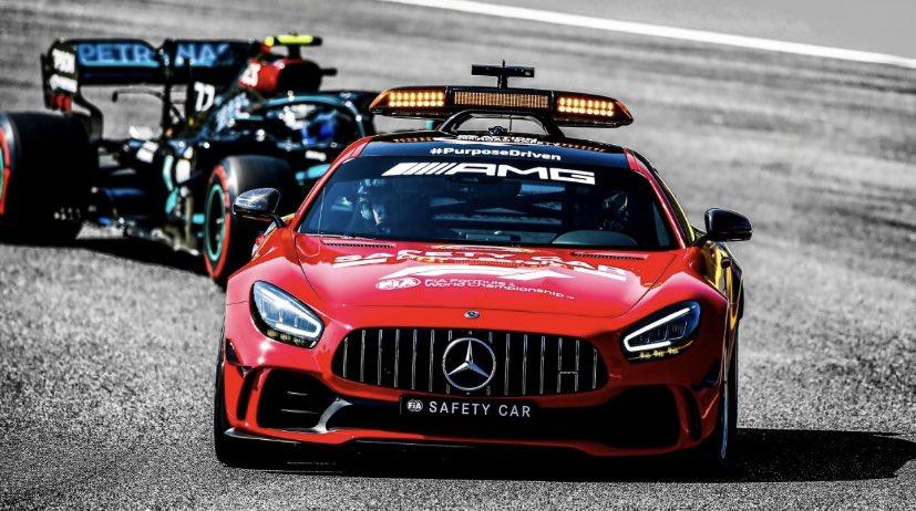 Leader of the pack ⚠️🔴⚠️   @MercedesAMG @MercedesAMGF1 📸 #TuscanGP 🇮🇹 #F1 https://t.co/lDV8XqmPUz