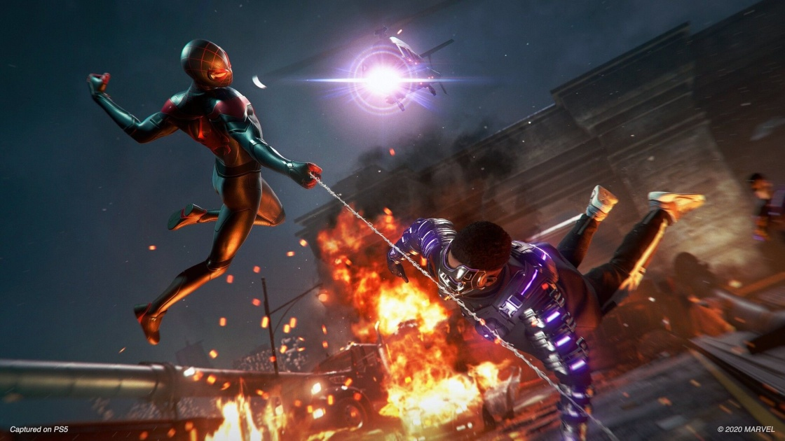 Sony shows off 'Miles Morales' mayhem, announces PS4 release