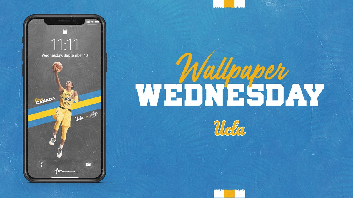 Good luck to former @UCLAWBB student-athlete @jordin_canada as she competes in the @WNBA Playoffs!  #WallpaperWednesday | #GoBruins https://t.co/jXJZE90LRU