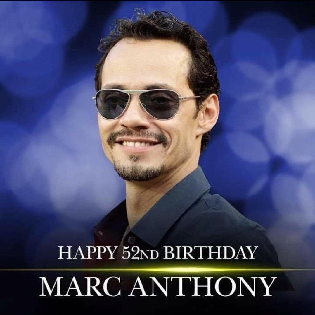 Happy birthday my orgullo boricua  que dios el de salu y bendicion  marc Anthony