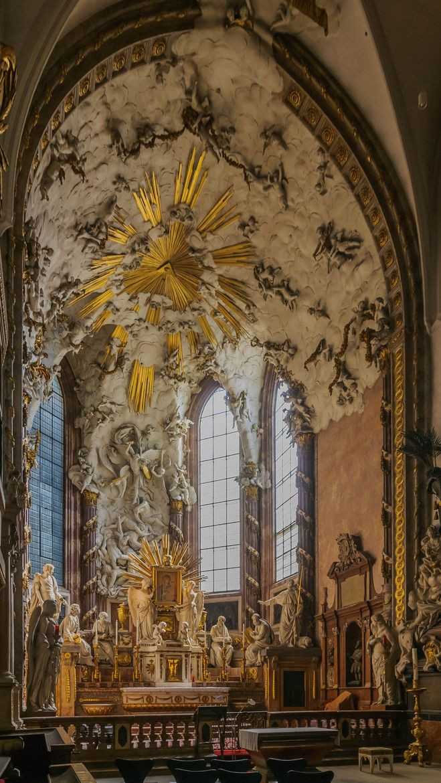 Inside St. Michael's Church in Vienna, Austria. https://t.co/zhrzHIWEG9