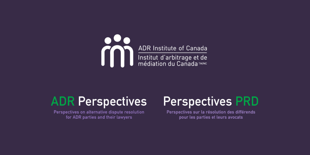 The 28th issue of the ADR Perspectives newsletter is out!   Read about two Supreme Court of Canada decisions of importance to arbitration, remote mediations, confidentiality for arbitral proceedings, and recommended post-mediation steps.  https://t.co/DC5JnYgIKI https://t.co/N2fo5bl9Up