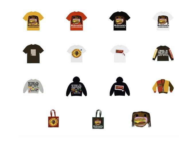 CPFM x Travis Scott 'McDonalds Collection'