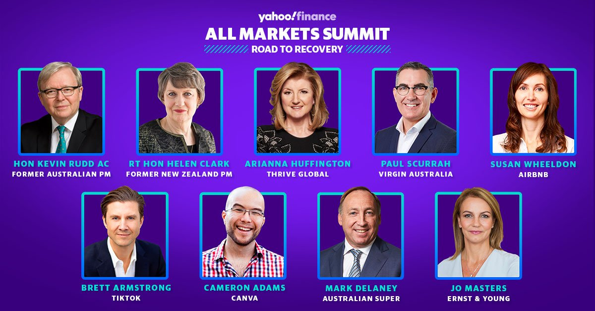 Today's the day!  #YahooFinanceAMS kicks off at 9am AEST. Don't miss out as we bring our readers, journalists, clients and the business community for one powerful morning of ideas and inspiration. FULL SCHEDULE: https://t.co/bFIs7cBe3T https://t.co/Ii1iFJGAzs