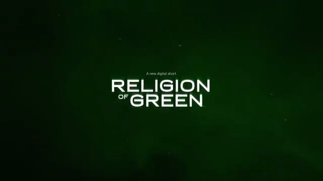 Image for the Tweet beginning: Religion of Green: A new
