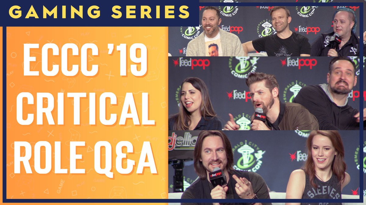 Calling all Critters: we're premiering the #ECCC 2019 Critical Role Q&A tonight at 4:00 PM PT. Subscribe and set a reminder so you don't miss out: https://t.co/4RmciCHkMR https://t.co/MPLuvMrf0a