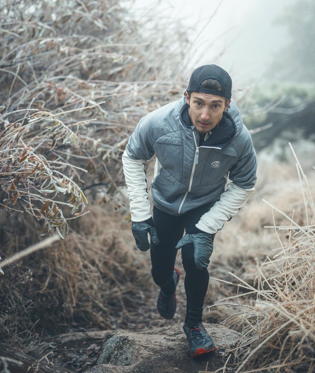 Sneak peak: new fall/winter running apparel drops soon. Pictured: new Hydro Tight and Ventro Jacket