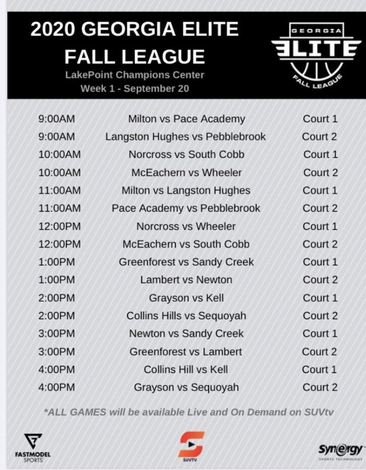 This fall league looks like a throwback to summer leagues at 'Run & Shoot' ran by The Godfather Don Dollar!! #GeorgiaEliteFallLeague 🍑🏀 #TopTeamsCompeting https://t.co/tOLQZAPJ2Y