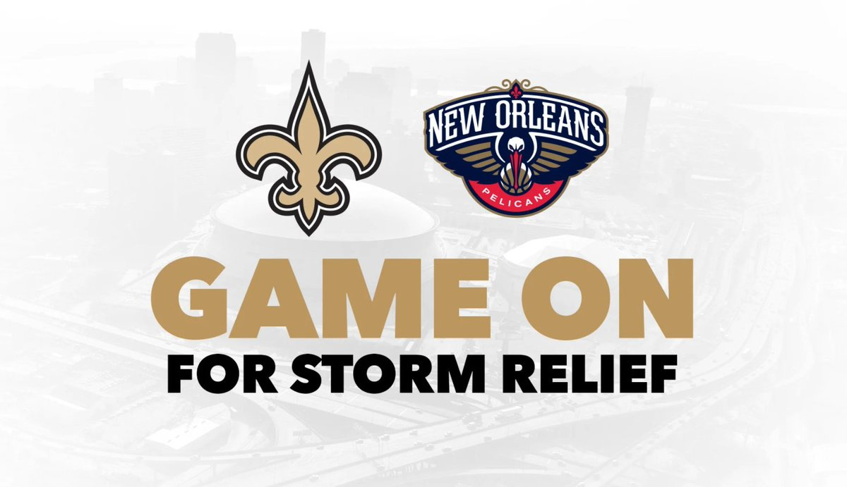 🚨 𝑻𝑶𝑫𝑨𝒀 is the deadline to make a donation and be entered to win the chance to rep the Black & Gold during the Saints-Packers Sunday Night Football game on 9/27! **You must sign up after you make the donation to be entered** Donate here » neworlns.co/SaintsFBDonate