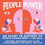 Image for the Tweet beginning: Tomorrow, we release People Power