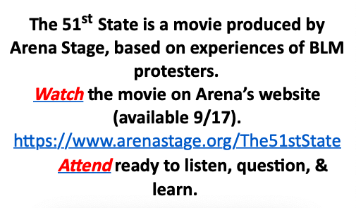 HBW's HIVE has arranged a virtual meeting to learn from the director and actor of this movie about the Black Lives Matter demonstrations. Join HIVE via Canvas and don't miss the gathering in HIVE's TEAM on Wed., Sept 23, 4:30-5! <a target='_blank' href='https://t.co/W8gsJcQZsK'>https://t.co/W8gsJcQZsK</a>