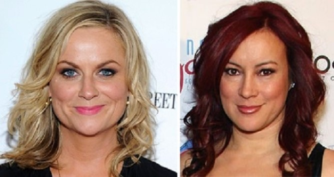 HAPPY BIRTHDAY !   Amy Poehler  and  (the awesome) Jennifer Tilly
