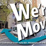 Image for the Tweet beginning: Have you heard? We're moving!