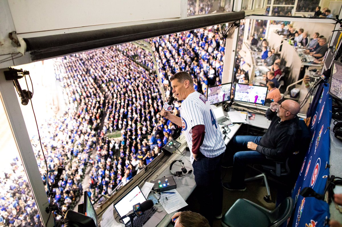 Tune in to the @Cubs game on @WatchMarquee tonight at 7:15 pm! Our own @PorterMoser will perform Take Me Out to the Ballgame during the 7th inning stretch! 🎤🎶   #OnwardLU #MVCHoops https://t.co/nI7N2YwYCL