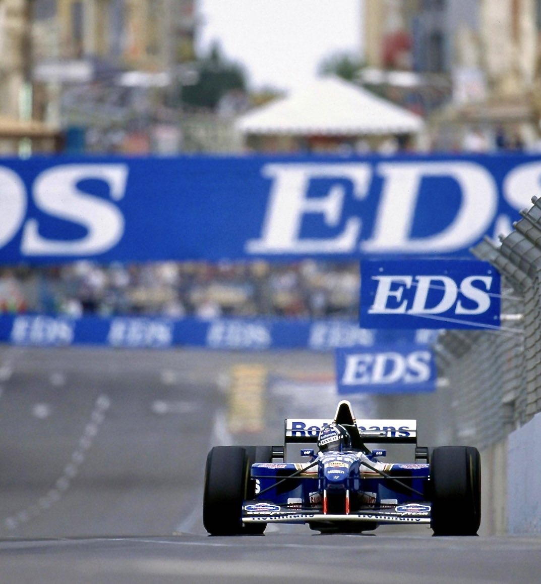 Britain's Damon Hill celebrates his 60th birthday today. He raced at the Adelaide Grand Prix for Williams from 1993 to 1995, finishing third in 1993, retiring following the championship-deciding tangle with Michael Schumacher in 1994 and winning in 1995 (📷). #F1 #Adelaide https://t.co/FjzecGnfYJ