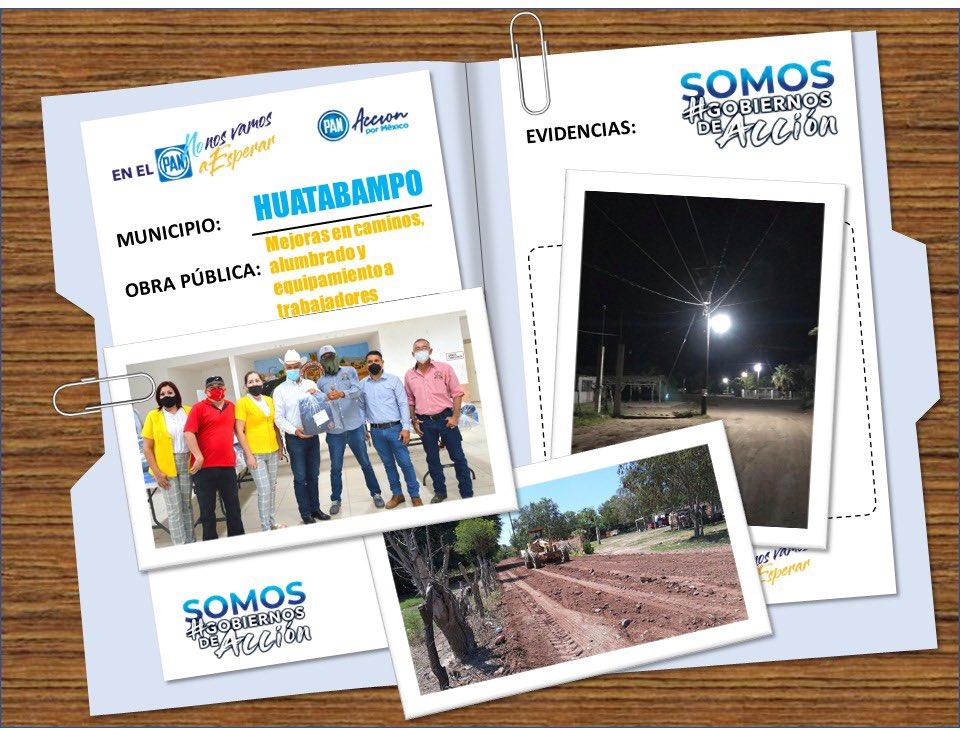 ¡En Sonora tenemos #GobiernosDeAcción!  Ejemplo de ello es el Gobierno Municipal de Huatabampo.    #SiHayDeOtra #2Informe #Huatabampo https://t.co/F5FMl0s2co