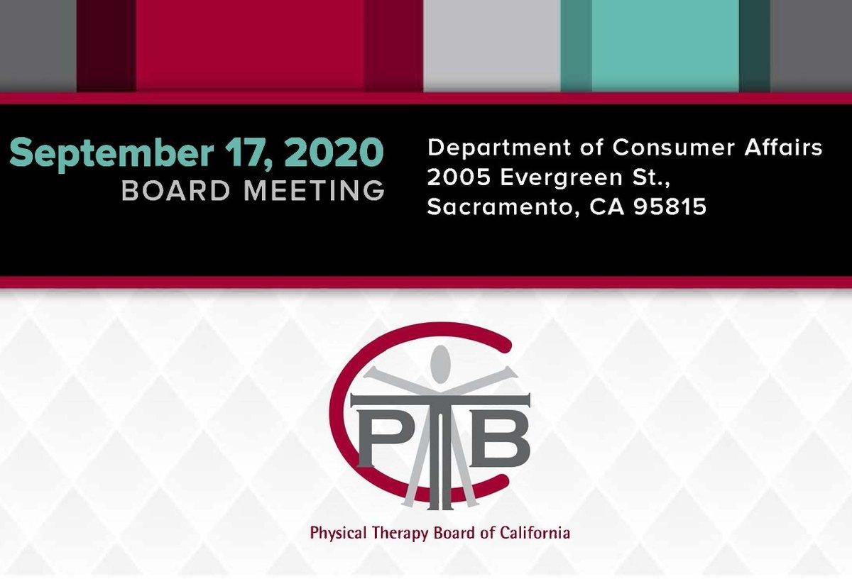 Pt Board Of Ca Ptbcnews Twitter