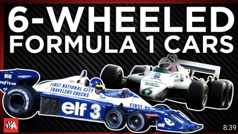 The Banned 6-Wheeled F1 Cars https://t.co/CqnEJ8f4aK via @YouTube   #F1 https://t.co/K3Kp3XlqPq
