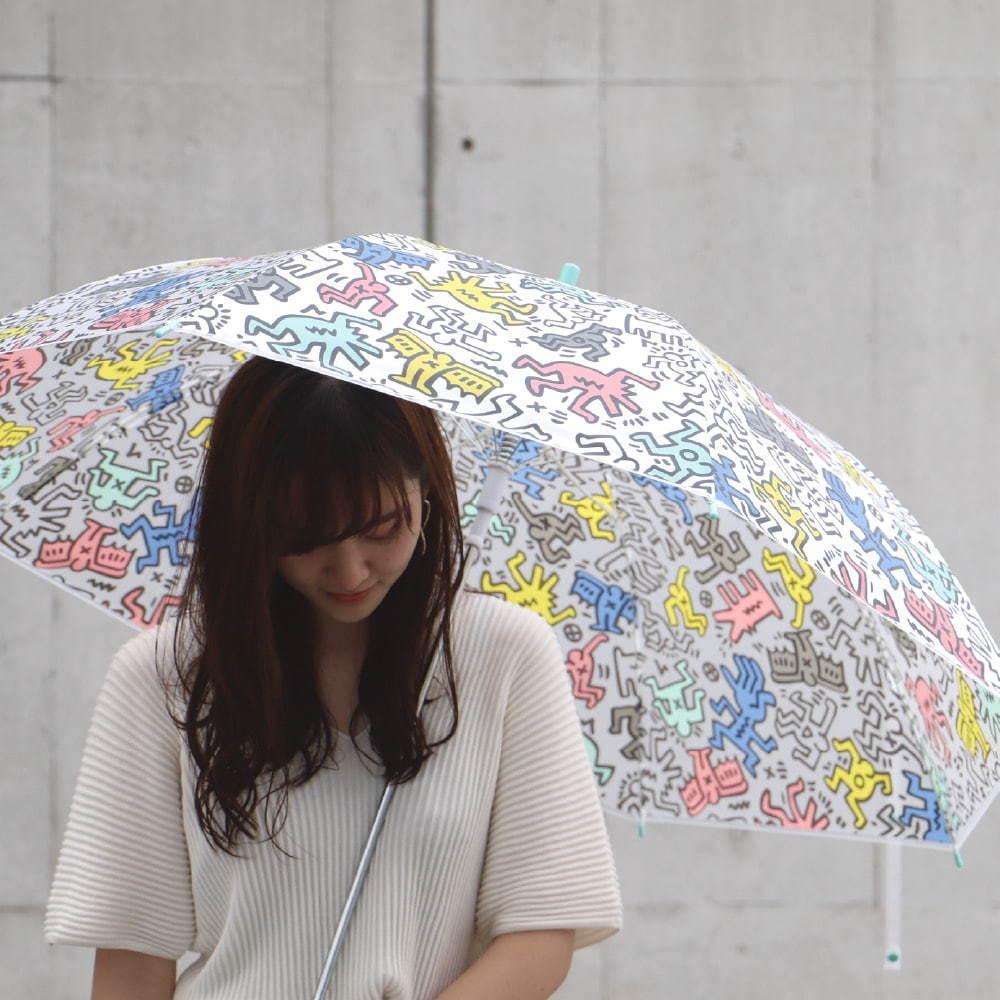 """""""キース・ヘリングのアート""""がビニール傘に、セブン-イレブンで発売 -"""
